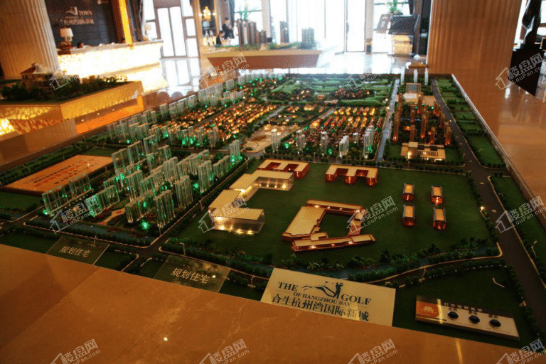 合生杭州湾国际新城实景图