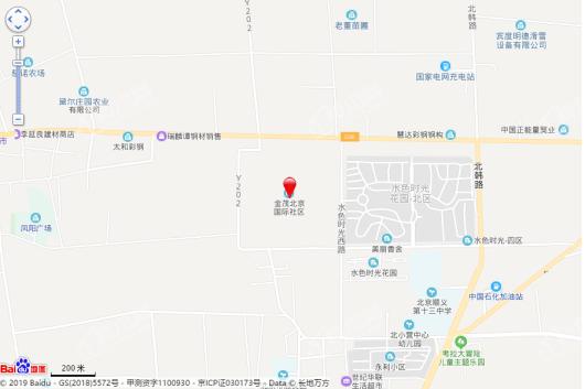 金茂北京国际社区交通图