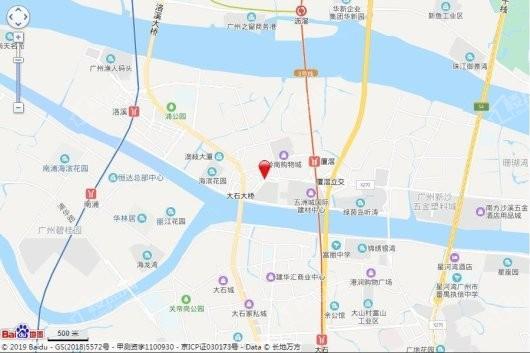 信基玥岛交通图