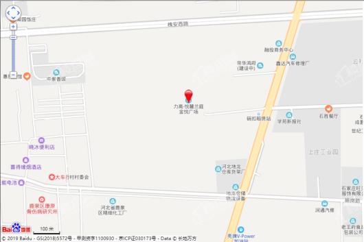 力高·悦麓兰庭交通图
