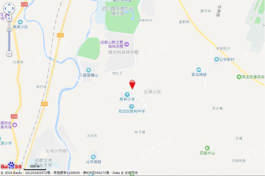 协信天奉合府交通图