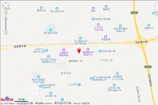 新力东园交通图