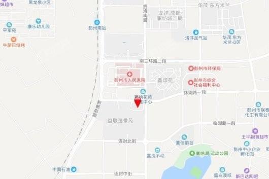 彭州逸都城交通图