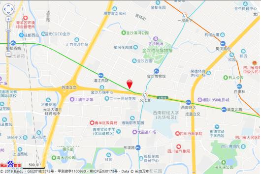 华府金沙名城交通图