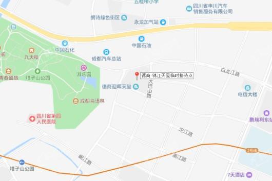 德商 锦江天玺交通图