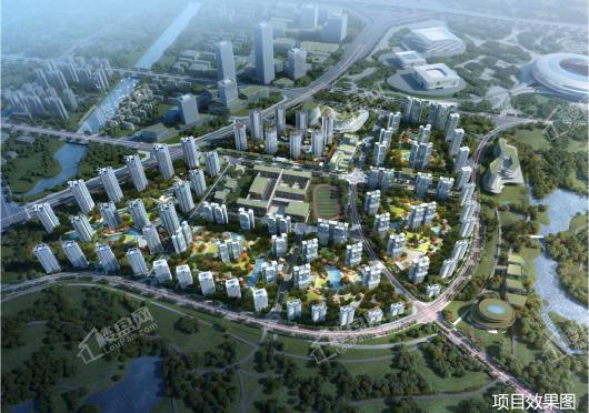 华润置地未来之城效果图