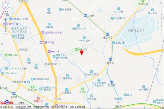 万科天荟住宅交通图