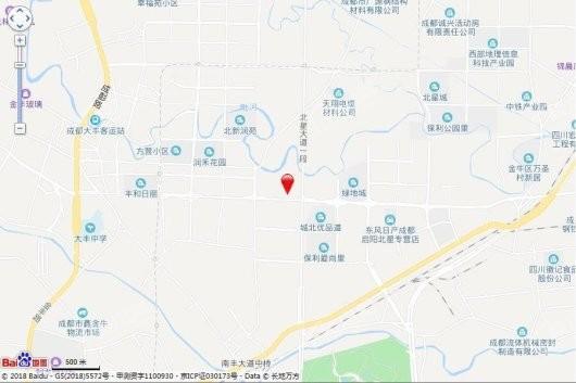 龙湖天鉅项目交通图