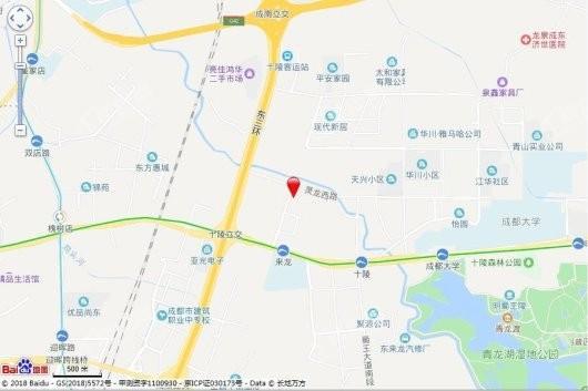 中梁壹号院项目交通图