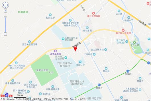 金强悦府交通图