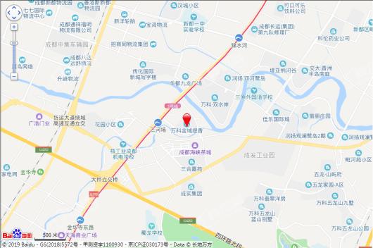 万科生活广场缇香里交通图