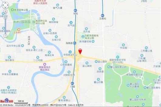 DH.锦南玺交通图