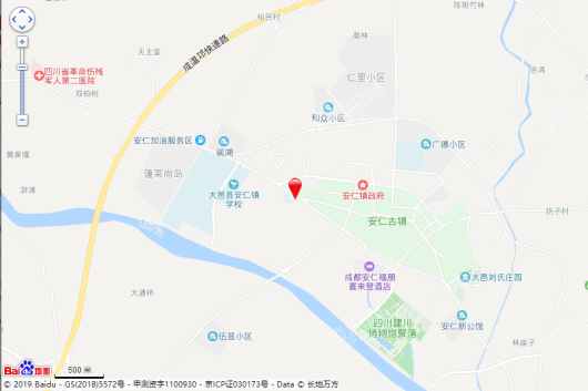 华侨城安仁里交通图