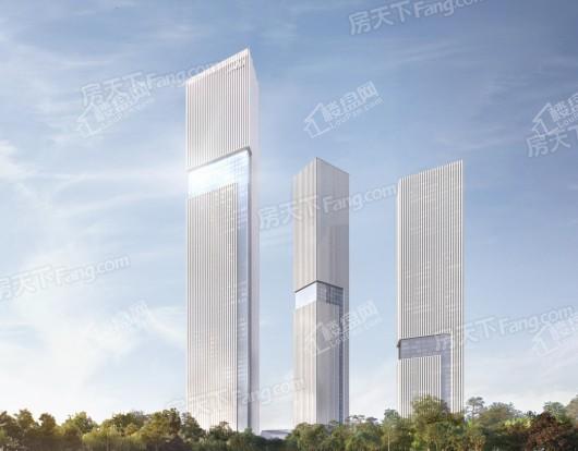 蔚蓝卡地亚中心效果图