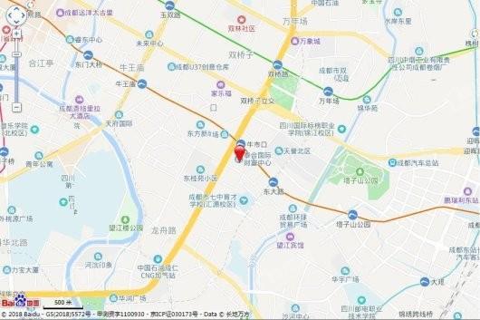 天誉5区交通图