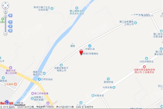 成锦熙锦5号交通图