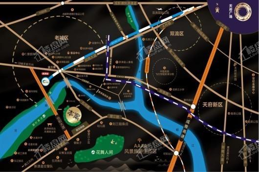 雍景苑交通图