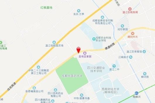 书香华府交通图