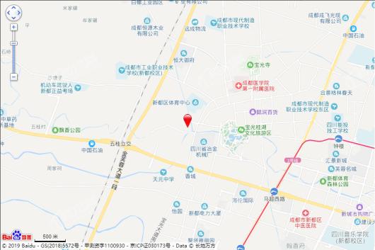 桂湖正荣府交通图