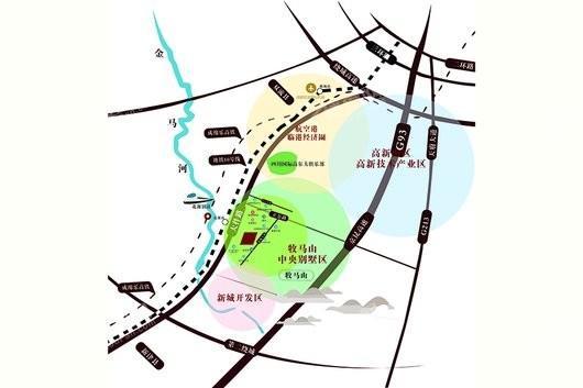 优博 淘·花源交通图