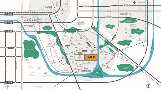 亦庄·臻珑府交通图