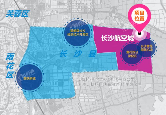 开元春华商业街·商墅位置图
