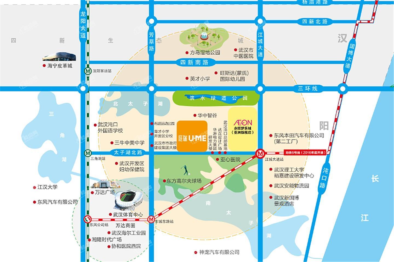 庭瑞UME金街位置图