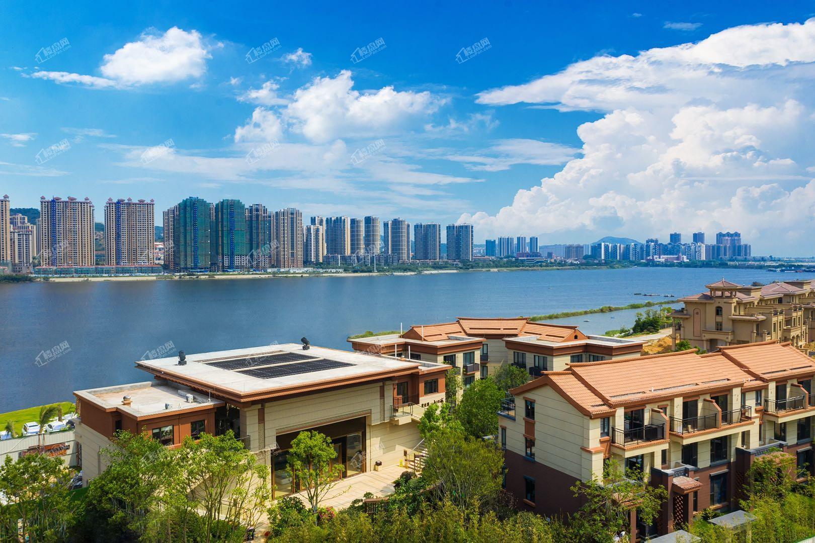 碧桂园山湖海实景图