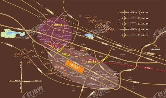 贵悦府交通图