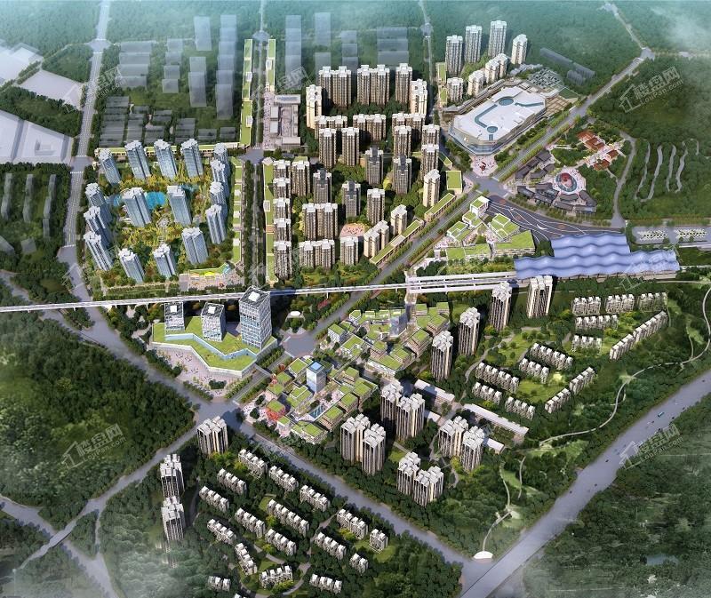 新华·维港城效果图