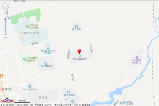 龙湖九里晴川交通图
