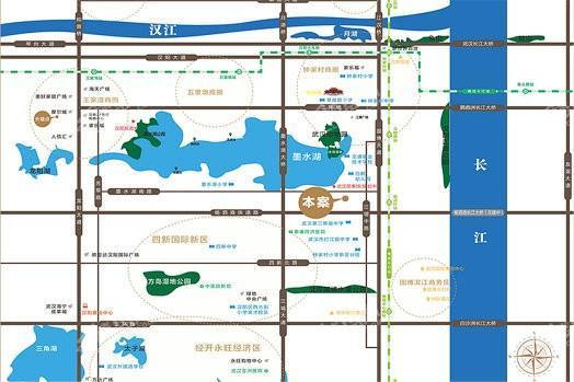 弘阳印月府商铺位置图