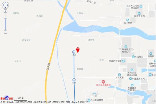 中梁天玺壹号交通图
