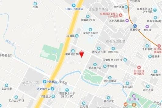 金沙宸宇公馆交通图
