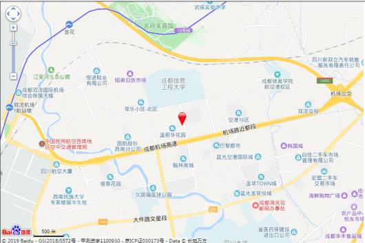 空港云尚交通图