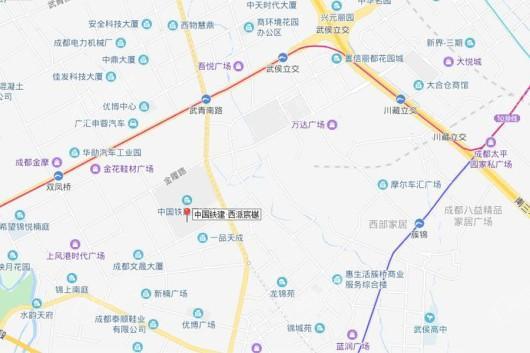 中国铁建·西派宸樾交通图