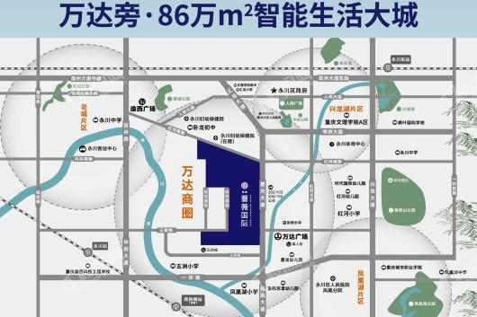 实地·蔷薇国际交通图