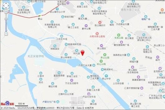 金融街·金悦府交通图