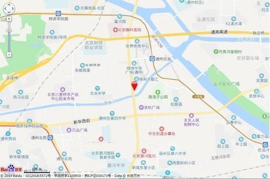 禹洲朗廷湾交通图