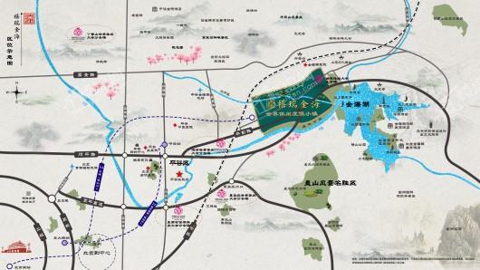 禧瑞金海交通图