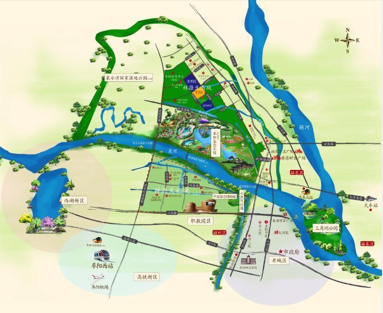 祥源生态城·芳华园位置图