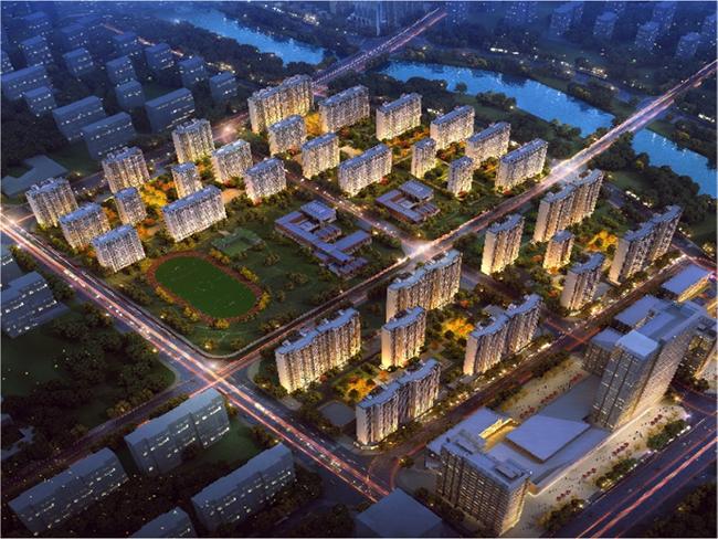 中新国际城效果图