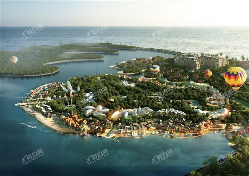 中国海南海花岛效果图