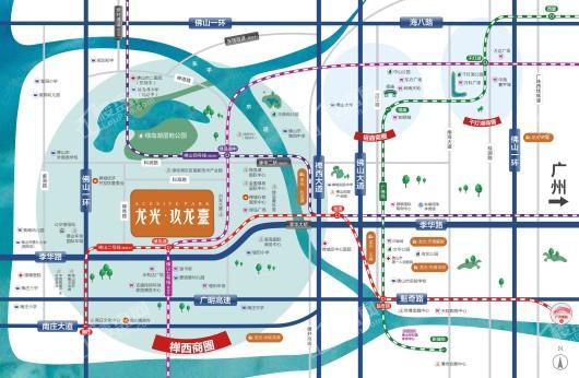 龙光玖龙臺交通图