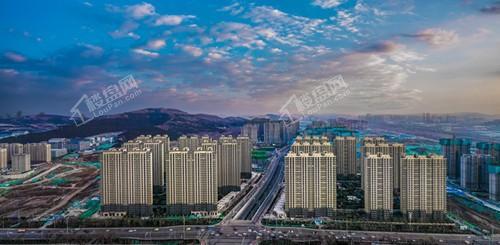 济南融创文旅城实景图
