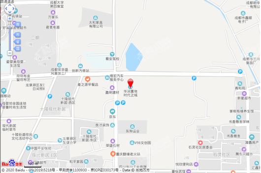 华润置地时代之城交通图