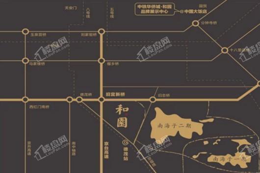 中铁华侨城·和园交通图