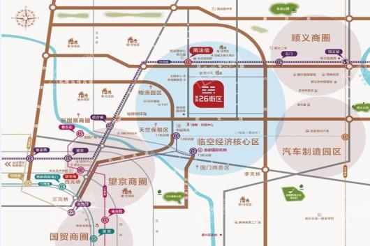 旭辉26街区交通图