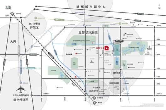 万科·翡翠华章交通图