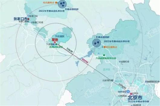 蓝城·北京桃李春风交通图
